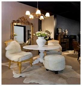 Mesa de Jantar Claire Redonda - Largura 137cm Altura 76cm Profundidade 137cm