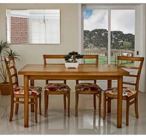 Conjunto de Jantar Linea com 6 Cadeiras -
