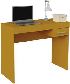 Escrivaninha Laguna P/ Notebook Amarelo
