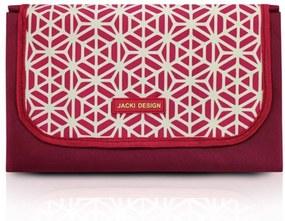 Tapete para Piquenique Impermeável (G) Jacki Design Bella Vitta Vermelho escuro