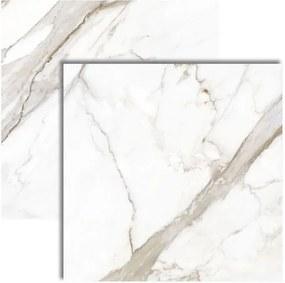 Porcelanato Calacata Premium Lux Polido Retificado 61x61cm - P62082 - Embramaco - Embramaco