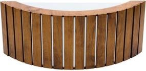 Arandela Madeira Imbuia 10x40cm