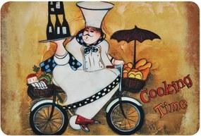 Tapete de Cozinha Antiderrapante 10 - Chef 40cm X 60cm