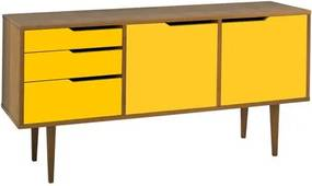 Buffet Strauss Amendoa 3 Gav 2 Port Cor Amarelo - 25395 Sun House