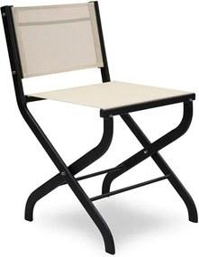Cadeira Berna em Alumínio Dobrável C/Tela Sintética