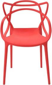 Cadeira Allegra Infantil Vermelha Rivatti Móveis