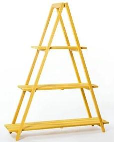 Estante Escada Troia Amarela 150cm - 61414 Sun House