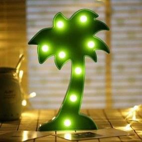 Luminária LED coqueiro