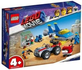 Lego Oficina Constrói e Conserta de Emmet e Benny - Lego