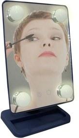 Espelho para maquiagem Vivitar Vanity Mirror com iluminaçÁo por LED e rotaçÁo 360° - Cinza