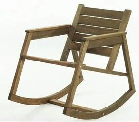Cadeira Balanco Janis Stain Nogueira 80cm - 61406 Sun House
