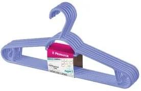 Cabide Plástico Multifuncional Leve 6 Pague 5 Lilás Primafer