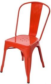 Cadeira Tolix Laranja - 51977 Sun House