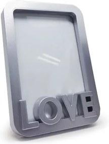 Porta Retrato Love - cinza