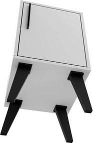 Mesa De Apoio 1 Porta Bpp 06-205 Branco/