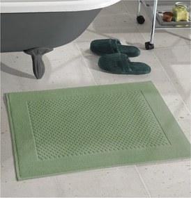 Toalha Para Piso Felpudo Prime Liso Verde Militar AF-1386