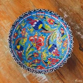 Tigela Turca em Cerâmica Relevo