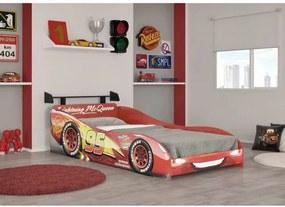 Cama Infantil Carros Disney Plus com Aerofólio - Pura Magia