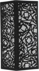 arandela CAMURÇA 22cm 1x bulbo metal BELLA HU5026B