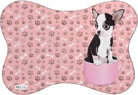 Tapete PET Mdecore Pinsher Rosa 46x33cm