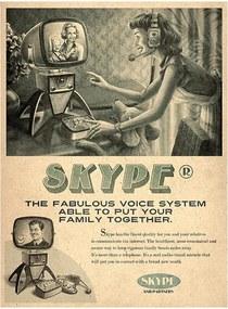 Placa Skype