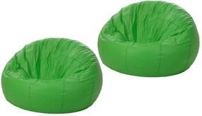 kit 2 Puffs Redondo Pop Verde - Stay Puff