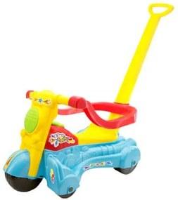 Moto Andador Baby Azul 262e - Bs Toys