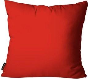 Almofada Premium Cetim Mdecore Lisa Vermelha45x45cm