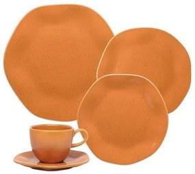 Aparelho de Jantar e Chá 20 Peças Ryo Papaya