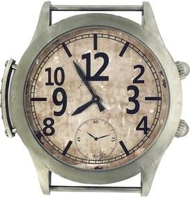 Relógio de Parede Estilo Pulso Oldway - Em Metal - 62x60 cm