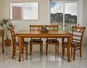 Conjunto de Jantar Inova com 6 Cadeiras -