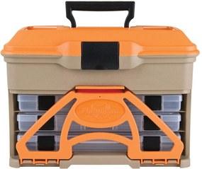 Caixa De Pesca Flambeau T3 Mini Front Laranja