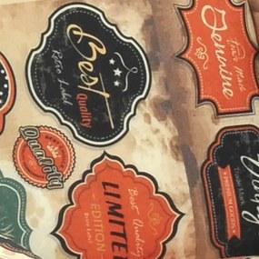 Poltrona Dakota C/ Pés Palito Suede Aveludado Estampado Vintage