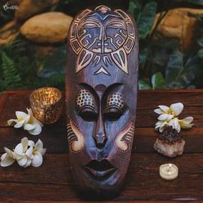 Máscara Decorativa Sol Tribal Bali