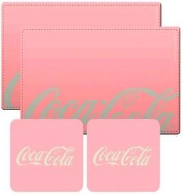 Conj 2 Jogos Americanos Sweet Color Coca Cola Retrô