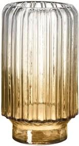 Vaso em Vidro Degrade Champanhe
