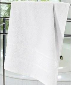 Toalha de Banho Dohler Felpudo Prisma Liso 70x1,40m Branca