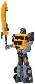 Robô Transformável - Misturador de Cimento - Buba