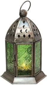 Lanterna Indiana Verde 20cm