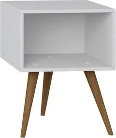 Mesa de Cabeceira Branco Tx Be Mobiliário