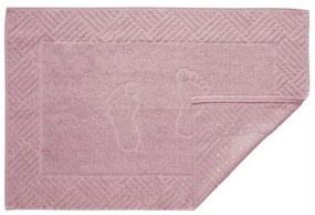 Toalha de Piso Antiderrapante Rosa 1 Peça