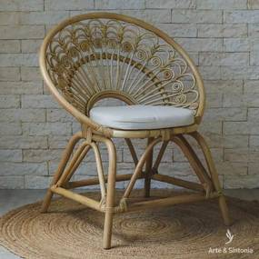 Cadeira Redonda de Rattan | Bali