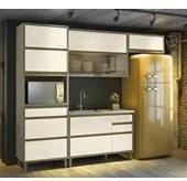Cozinha Completa Modulada 05 Peças Lyra Duna Off White Henn