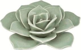 Flor Decorativa de Cerâmica Verde 7644 Mart