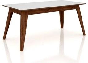 Mesa para Sala de Jantar TM62 180cm Nobre/Off White - Dalla Costa