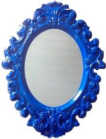 Espelho Oval Indigo Big Princess Azul Pequeno - Urban - 41,4x30 cm