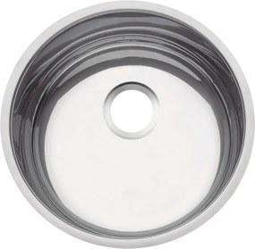 Cuba em aço inox alto brilho 38 cm - Prime - Tramontina