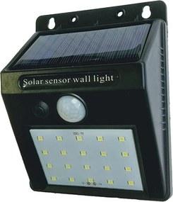 Arandela de Sobrepor Solar IP65 Led 6W 6500K - MBLED - D11075