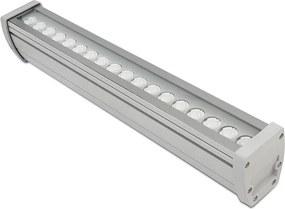 Projetor Linear led 18w quente Power Lume PL18W