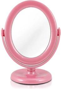 Espelho de Mesa com Design Giratório de 360 Graus Jacki Design AWA17152 Rosa
